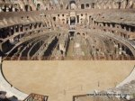 Floor of the Colosseum - how the floor would have been with tunnels underneath for lions, slaves, and Russell Crowe