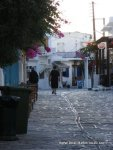 Old Greek ladies walking