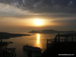 Sunset from Fira