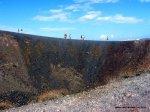 Nea Kameni crater