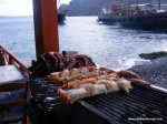More grilling on the dockside.  Check out that octopus!