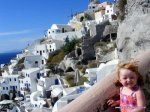 Lily in Oia