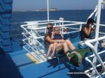 On the boat to Anti-Paros