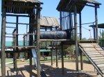 Rickety playpen in Swaziland